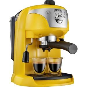 Delonghi ECC220.Y Pump Espresso Machine - Yellow